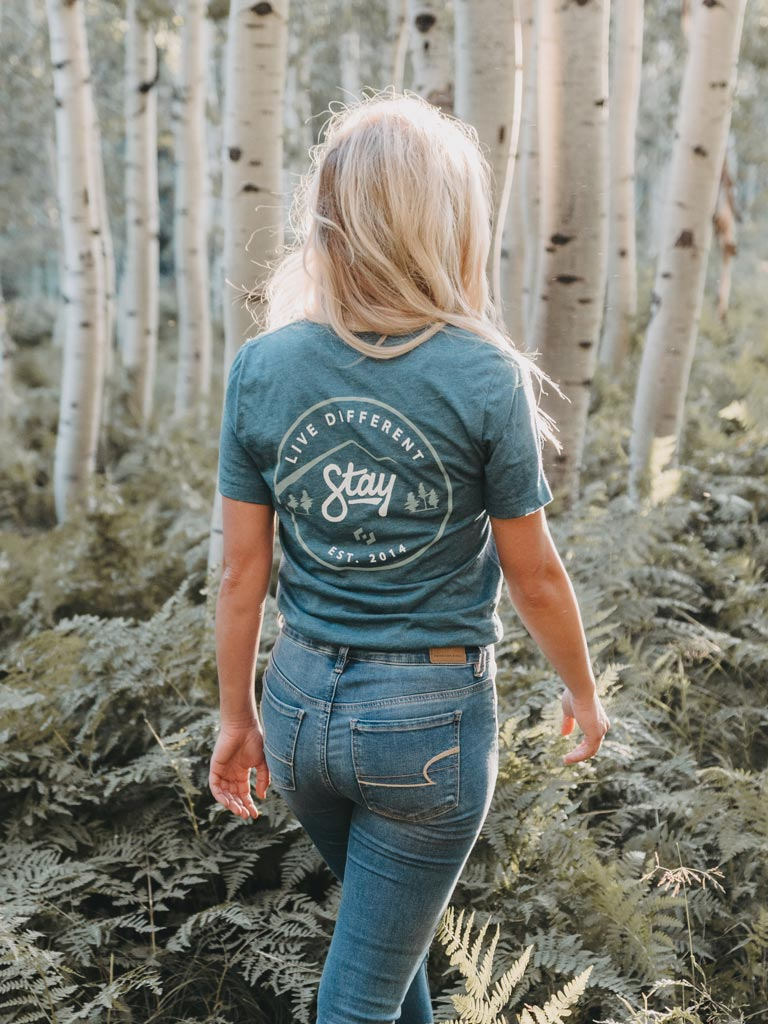 Nature Tee - Deep Teal