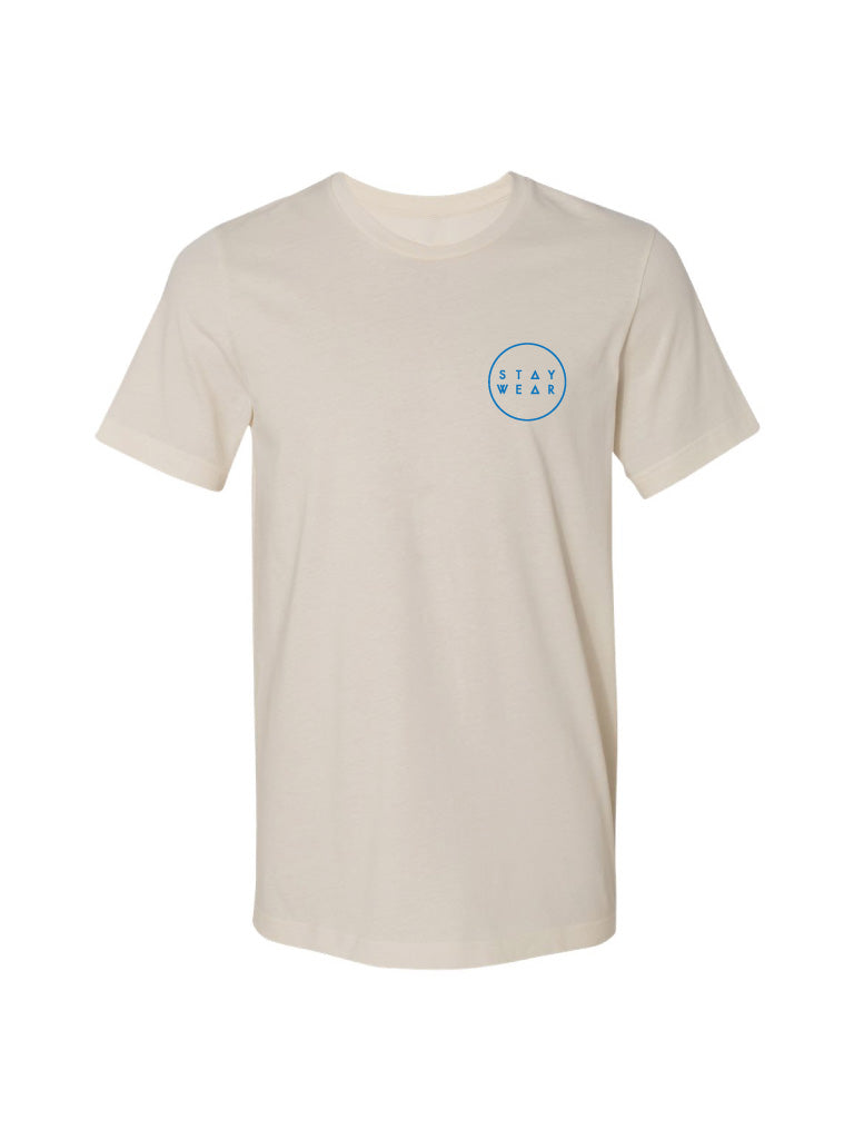 ORB TEE - CREAM (MENS/UNISEX)