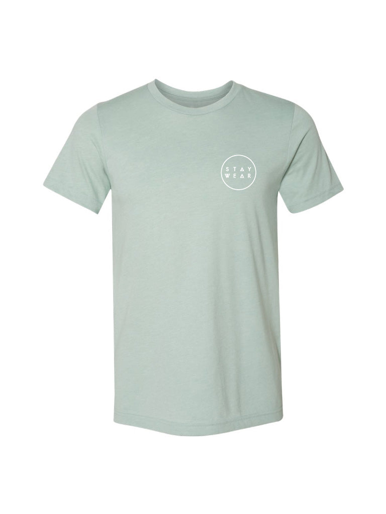ORB TEE - DUSTY BLUE (MENS/UNISEX)