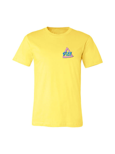 Retro Tee - Yellow