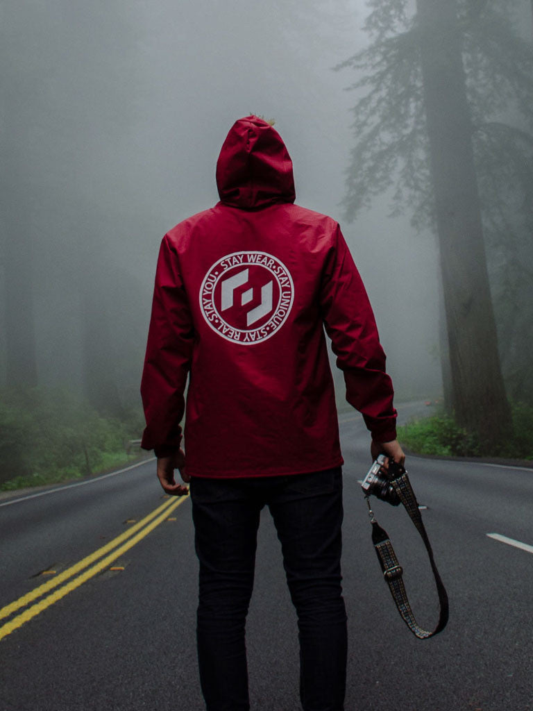 MOTTO WINDBREAKER - CARDINAL