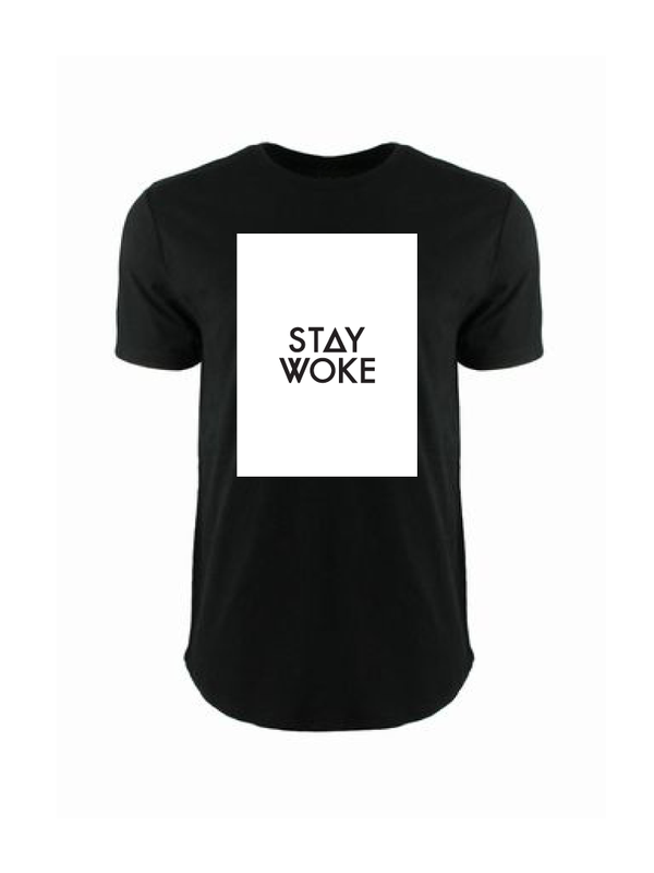 STAY WOKE - BLACK (MENS/UNISEX)