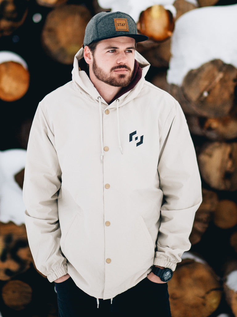 MOTTO WINDBREAKER - KHAKI