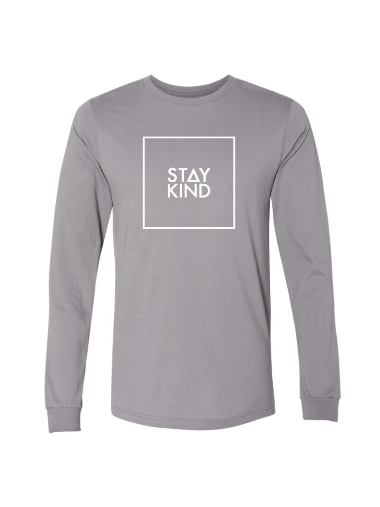 Stay Kind Long Sleeve - Storm