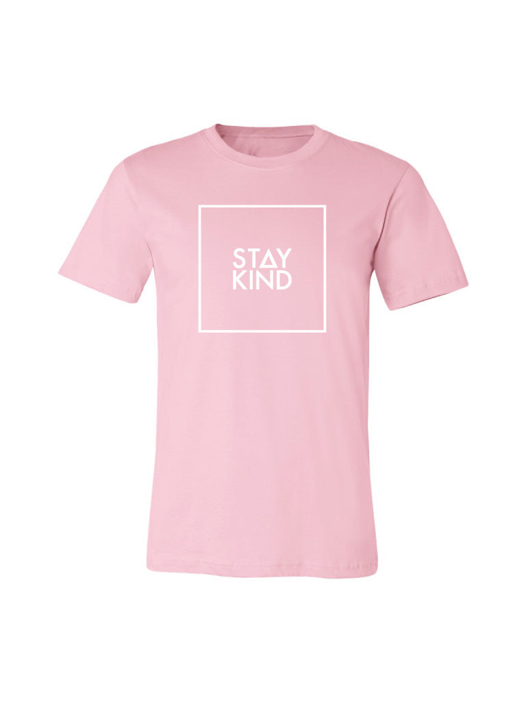 Stay Kind Tee - Pink