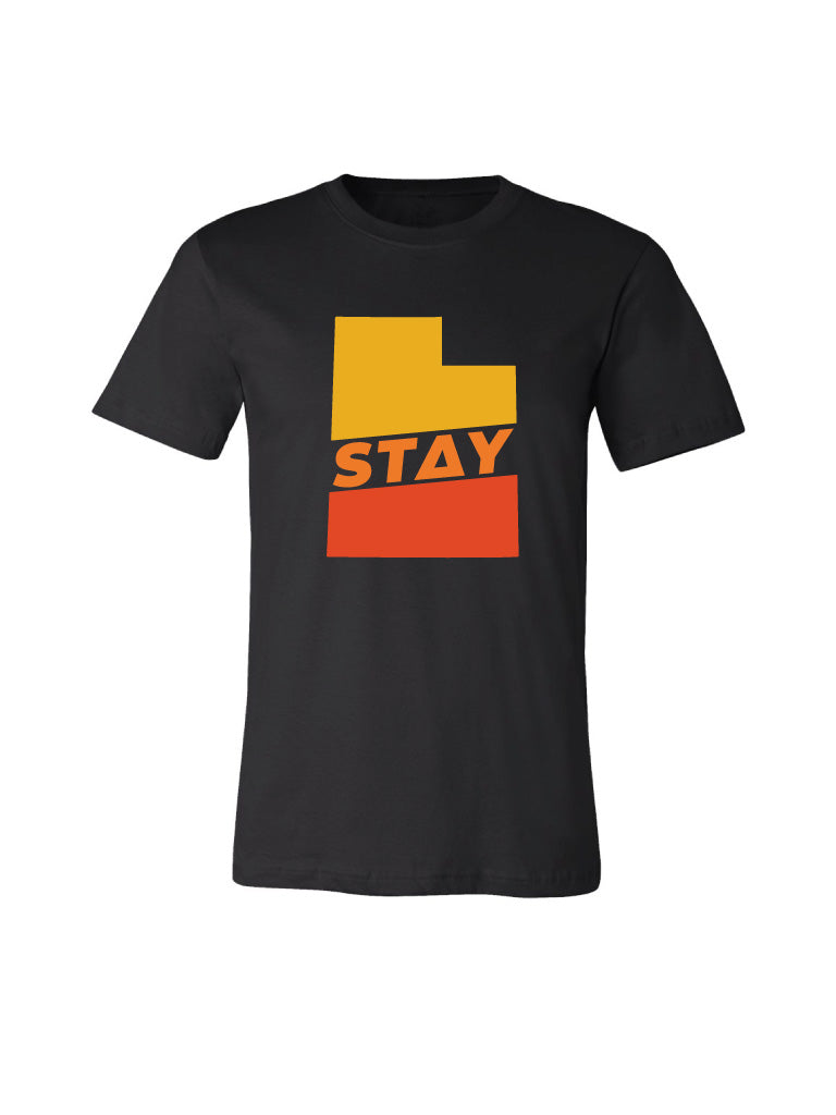 Stay Utah Tee - Red Rock