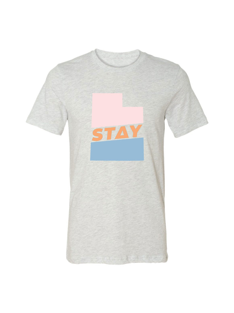 Stay Utah Tee - Sunset