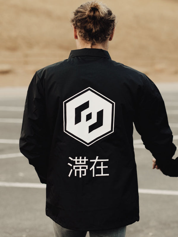 THE TALIS COACH JACKET - BLACK