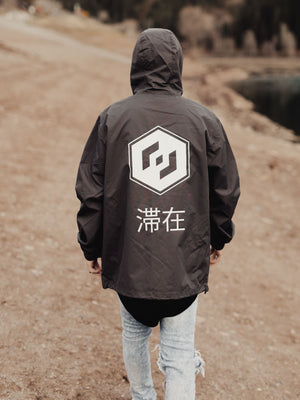 THE TALIS WINDBREAKER - GUNMETAL
