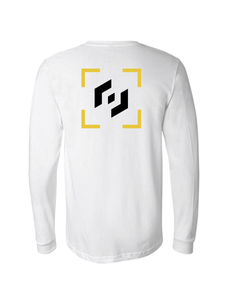 Tactic Long Sleeve Tee - White