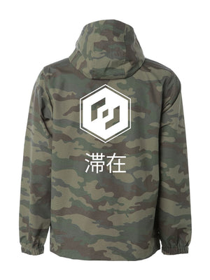 THE TALIS WINDBREAKER - CAMO