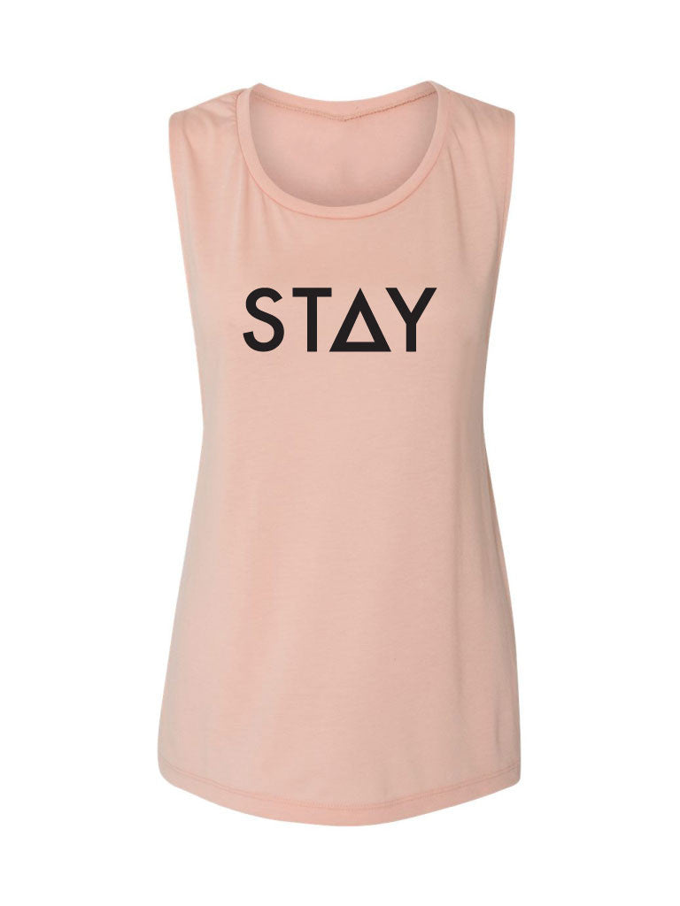 THE KIARA TANK - PEACH