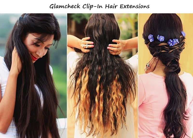 About Glamcheck Clip-in Hair Extensions