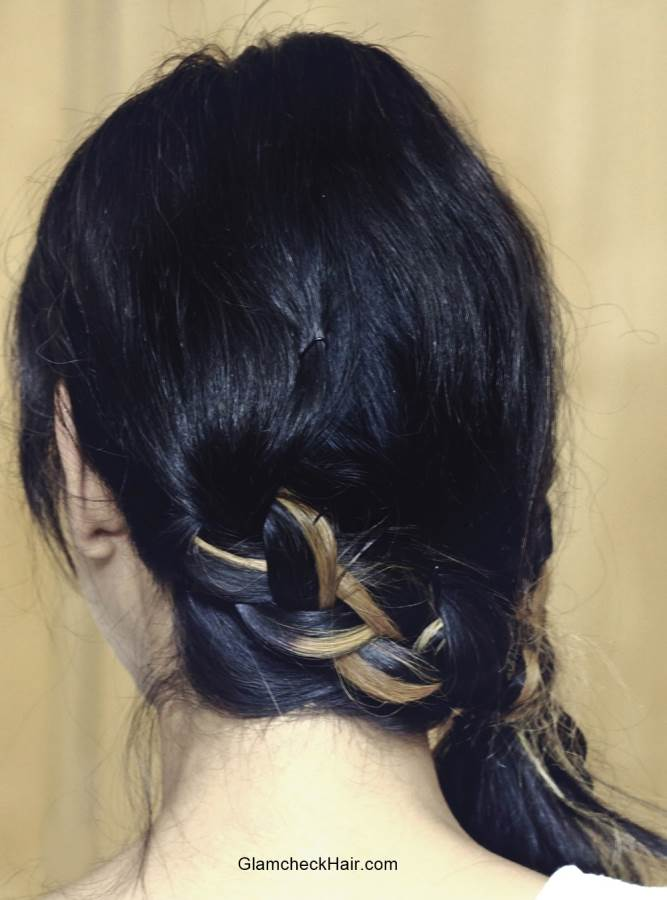 Braided Side Ponytail Hairstyle How To
