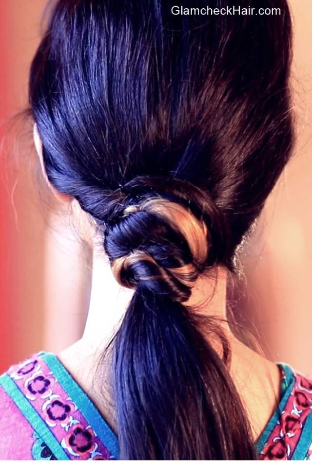 Easy Hairstyle for Medium Hair - Glamcheck Hair