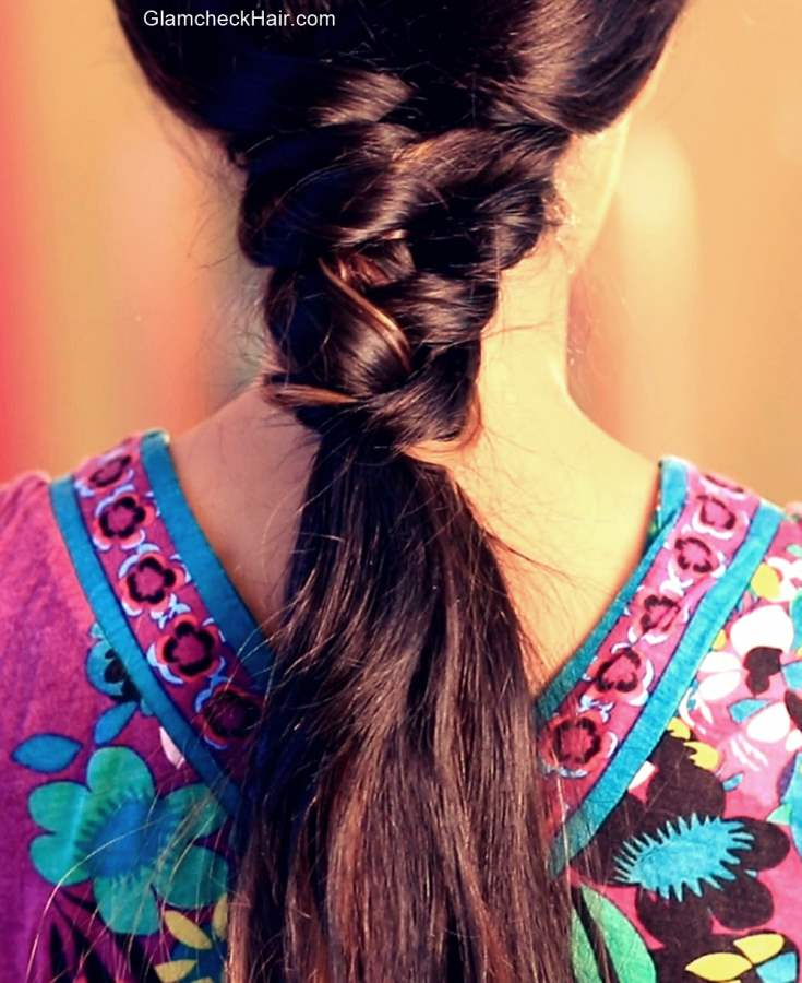 Easy Hairstyle  for Medium Hair - Ponytail