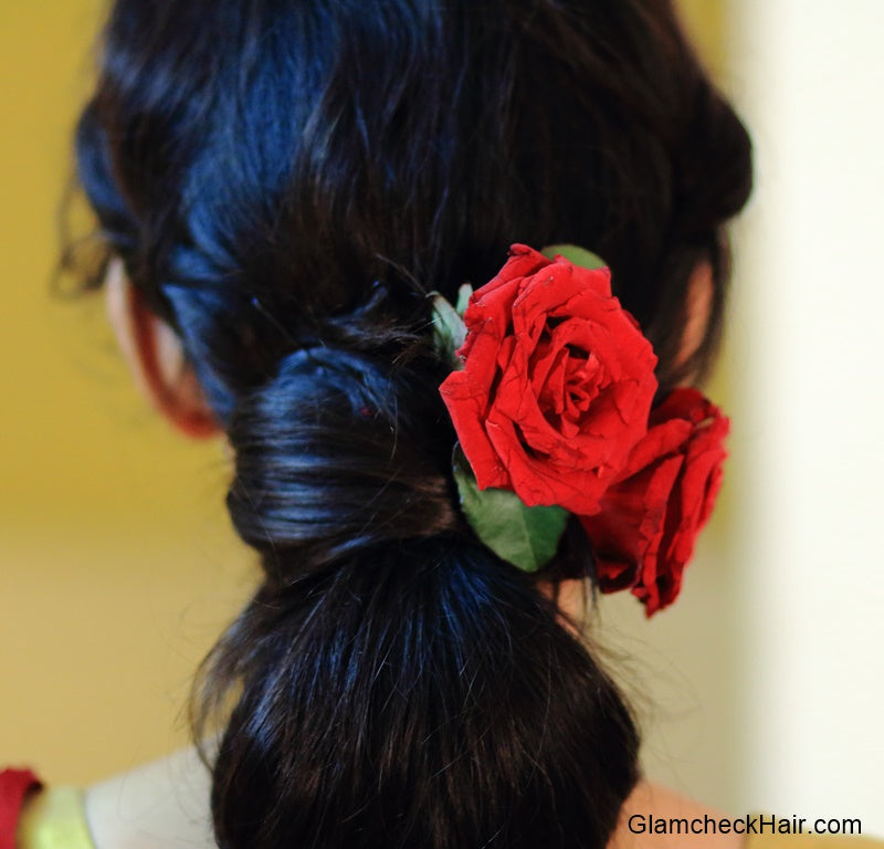 Festive Hairstyle - Effortless Updo