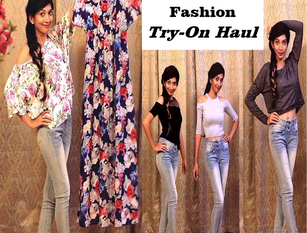 Indian Youtuber Fashion Haul