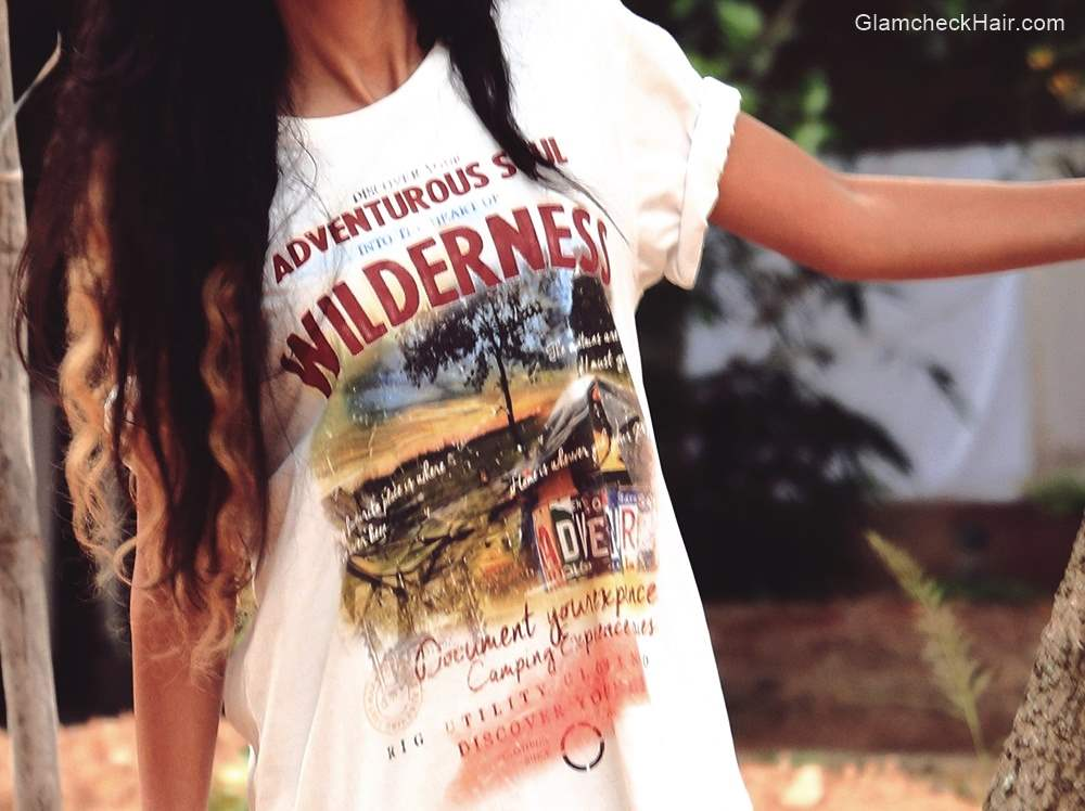 Wilderness Graphic Printed Tshirt for Camping