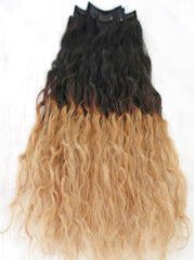 "Ombre Bleach Blonde - 160 Gram - 10 pcs set (22"")"