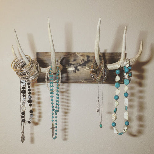 Mounted Antler Jewelry Holder