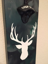 Camo Deer Head Bottle Opener