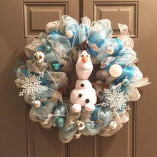 Frozen Olaf Wreath