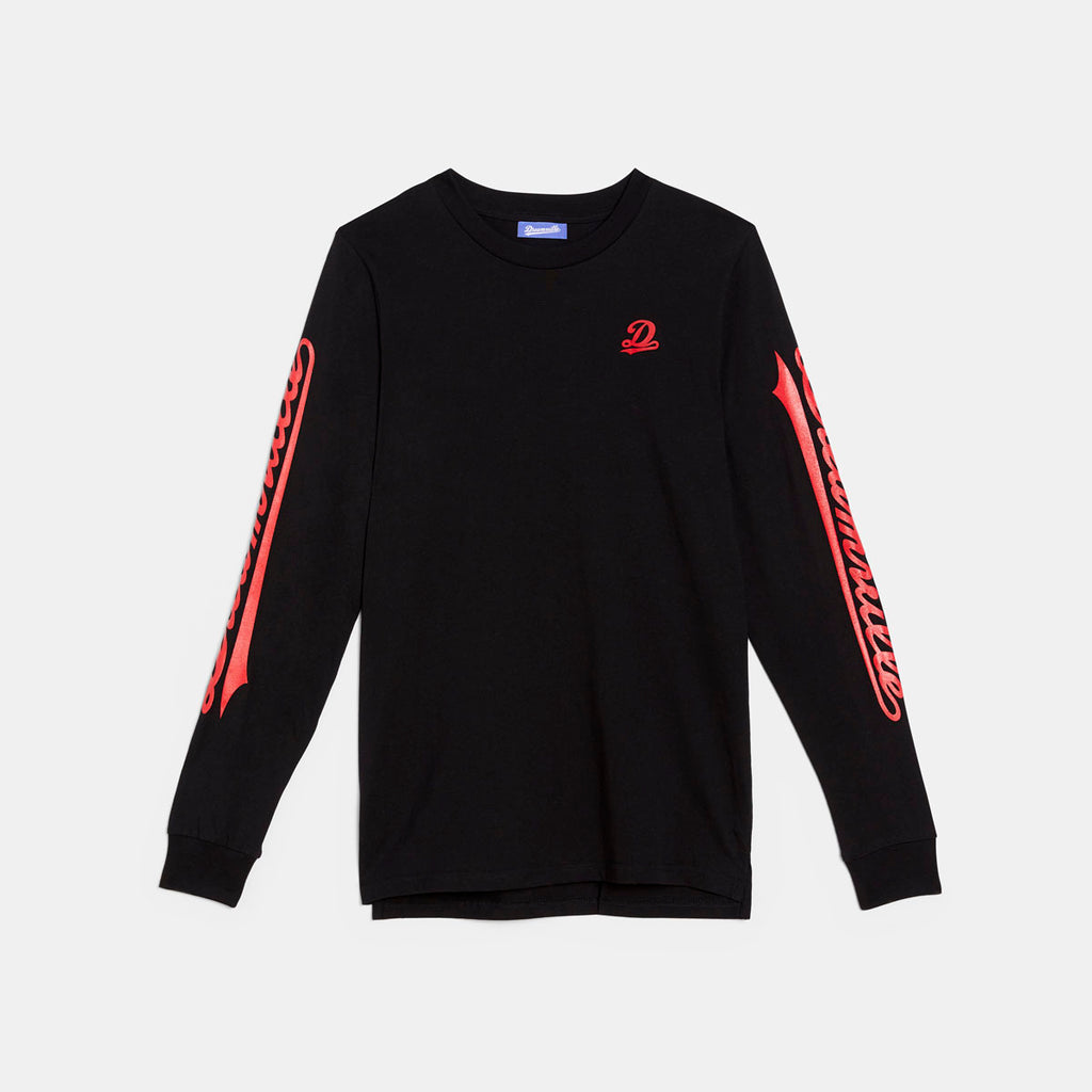 Dreamville Classic Long Sleeve Tee Black/Red