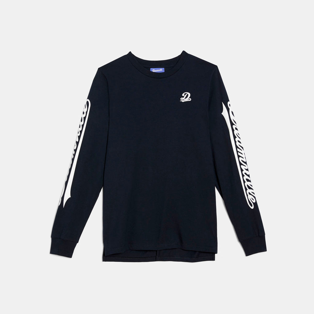 Dreamville Classic Long Sleeve Tee Navy/White