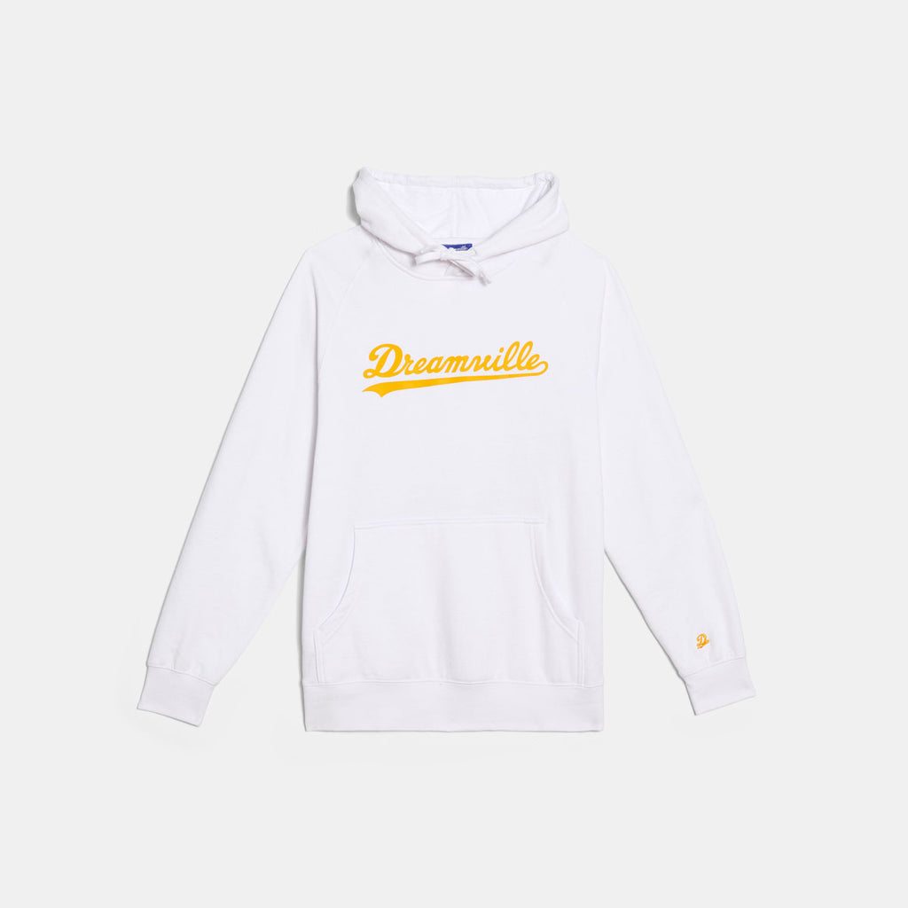 Dreamville Classic Logo Hoodie White/Yellow
