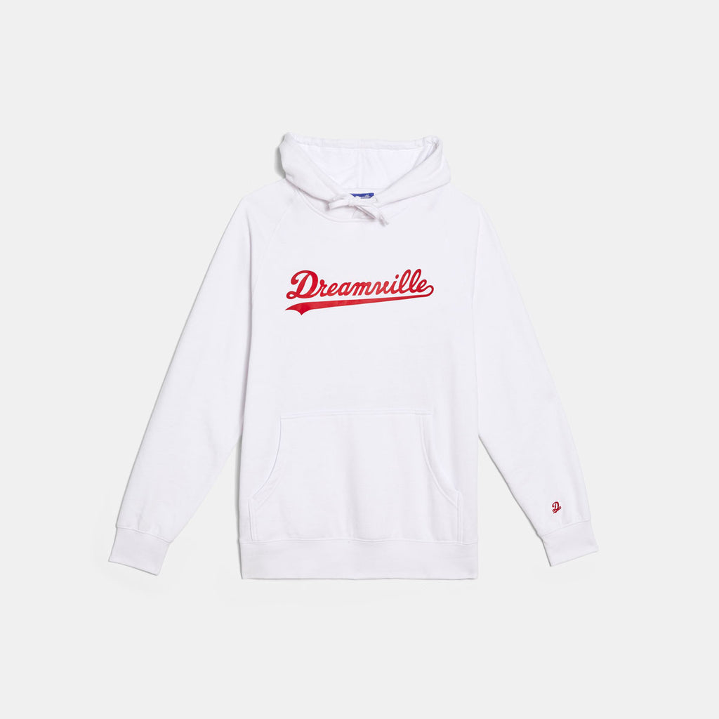 Dreamville Classic Logo Hoodie White/Red