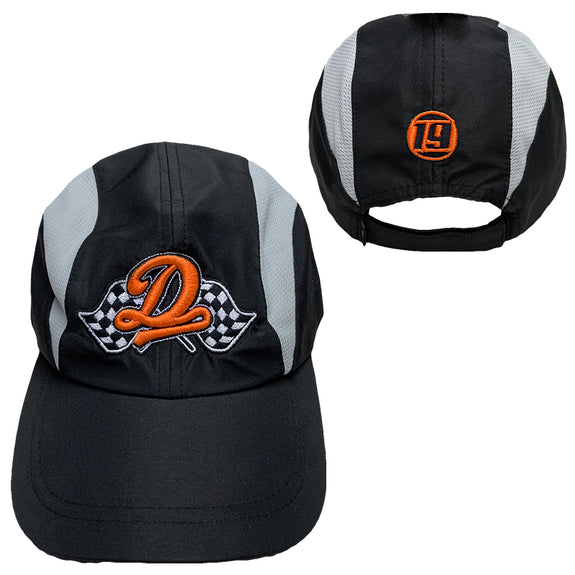 f33a2564f4460 Racing Dreamville 2 Tone Hat - Black Grey – Dreamville Official Store