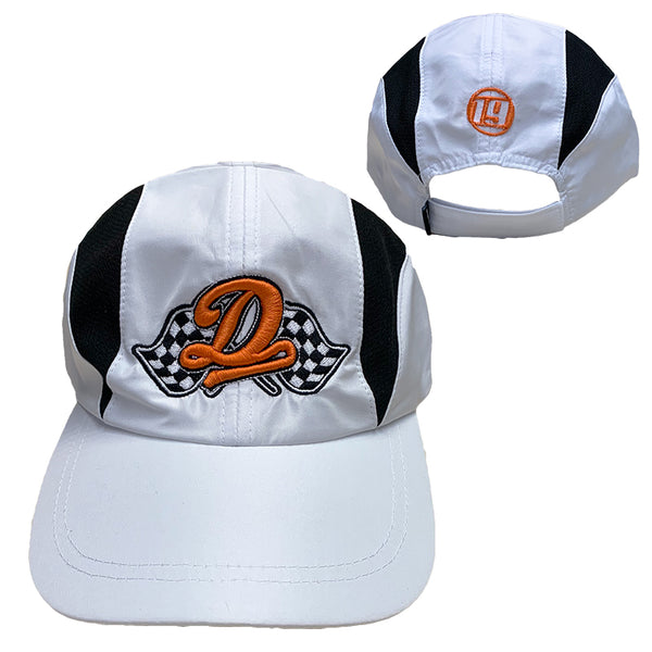 Racing Dreamville 2 Tone Hat - White/Black