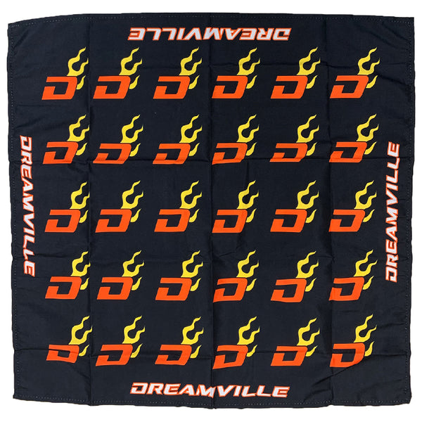 Racing Dreamville Bandana - Black