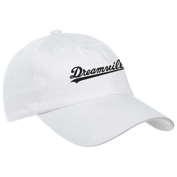 Dreamville Dad Hat - White