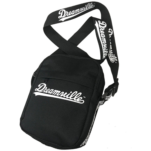 Dreamville Script Logo Messenger Bag - Black