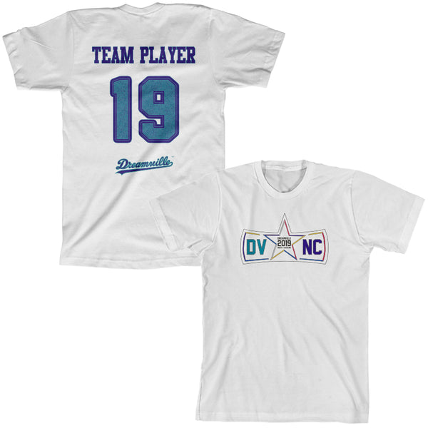 DV NC All Star Logo Team 19 Tee