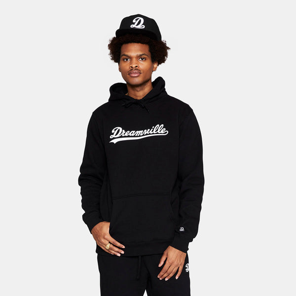 Dreamville Classic Logo Hoodie Black/White