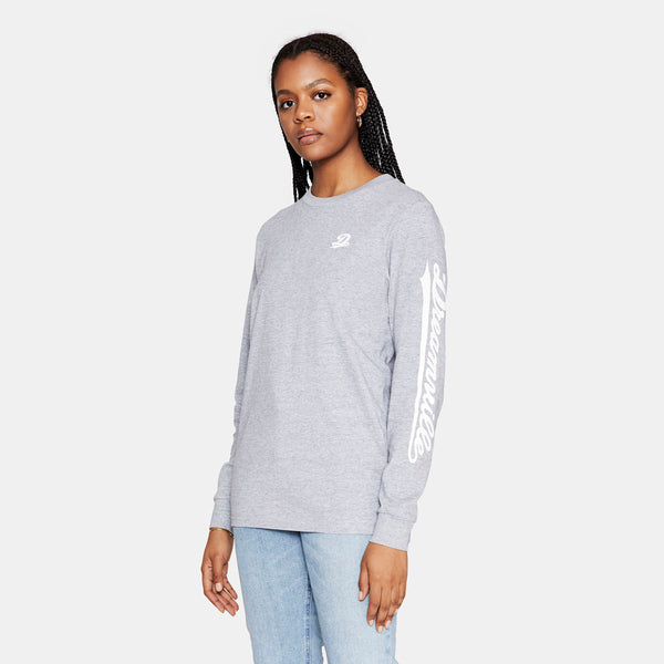 Dreamville Classic Long Sleeve Tee Grey/White