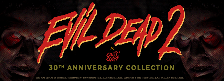 EVIL DEAD 2 - 30th anniversary collection, coming early 2017!