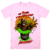 TARMAN: BARREL BUSTER - T-SHIRT (BRAIN PINK)
