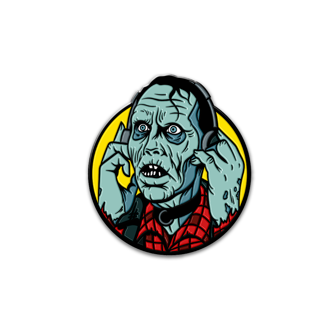 DAY OF THE DEAD: BUB - ENAMEL PIN