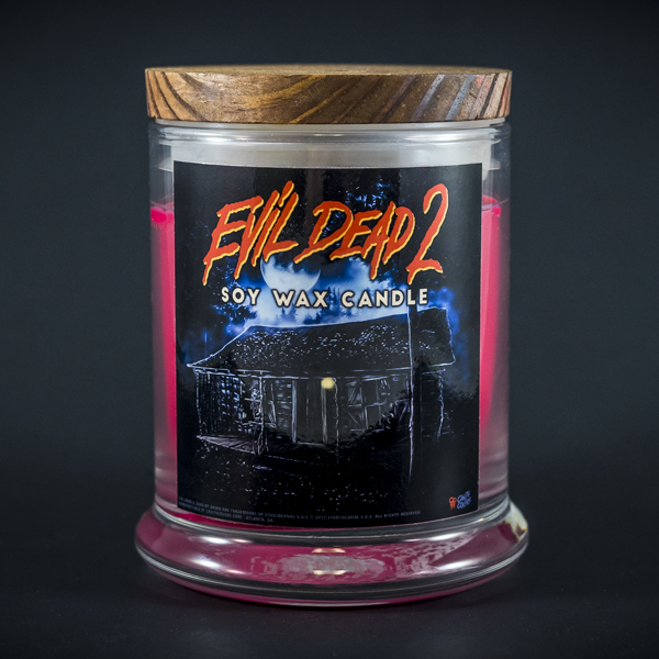 """EVIL DEAD 2 - DEAD BY DAWN"" CANDLE"