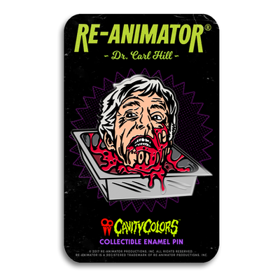 DR. CARL HILL - ENAMEL PIN
