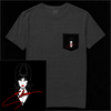 YOURS CRUELLY - ELVIRA SIGNATURE POCKET TEE