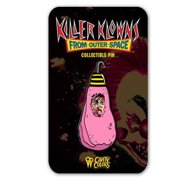 COTTON CANDY COCOON ENAMEL PIN