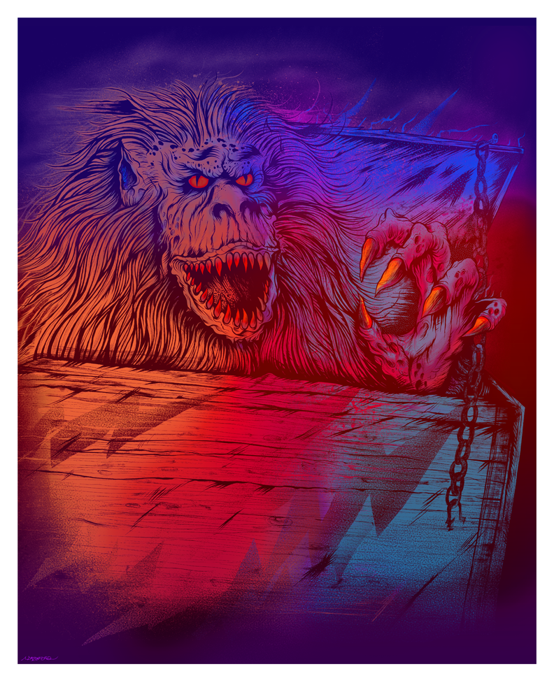 """THE CRATE BEAST"" LIMITED EDITION PRINT"