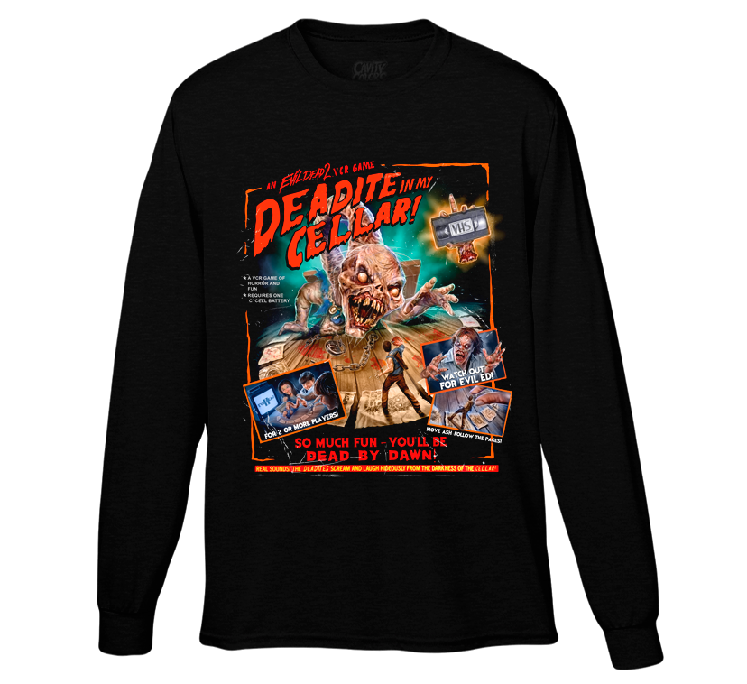 EVIL DEAD 2: VCR GAME - LONG SLEEVE SHIRT