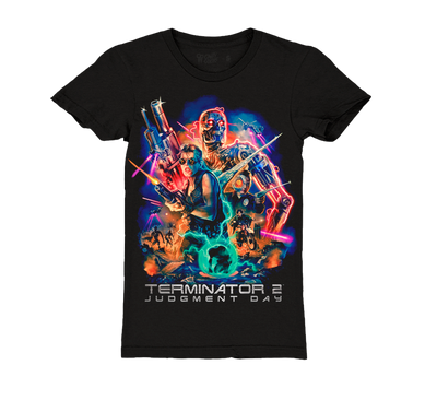 TERMINATOR 2 ™ - SARAH CONNOR - GIRLS T-SHIRT