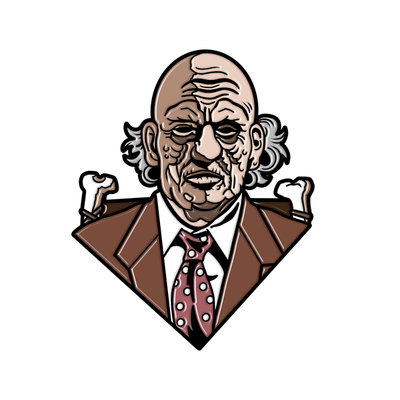 GRANDPA SAWYER - ENAMEL PIN